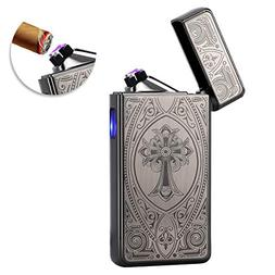 Kivors USB Rechargeable Windproof Flameless Electronic Pulse