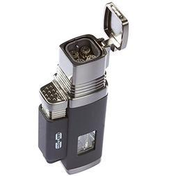 Moretti Vertigo Churchill Quad Flame Butane Torch Cigar Ligh