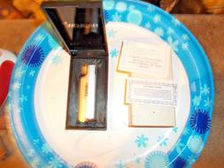 Vintage BARLOW Butane Lighter in Orig. Plastic Case nos-mark