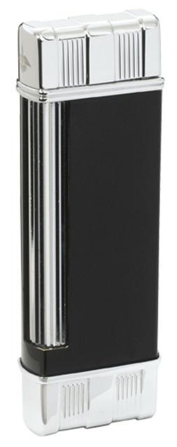 vintage flint cigarette lighter black lacquer collectible