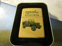 Vintage NEW 2000 WWII Jeep ZIPPO LIGHTER NEW