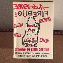 Vintage NIB Firebug 3 in 1 Charcoal Lighter Camp Stove Heate