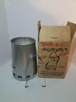 Vintage NOB Firebug 3 in 1 Charcoal Lighter Camp Stove Heate