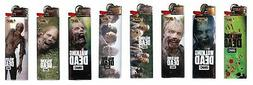 LIMITED EDITION BIC WALKING DEAD LIGHTERS - 5 LIGHTERS