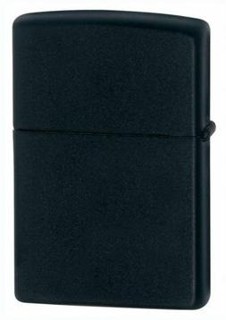 Zippo Windproof Black Matte Lighter  Item 218 New In Box Lif