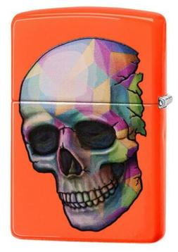 Zippo Windproof  Skull Design Lighter, 29402, New In Box
