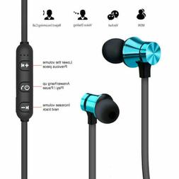 Wireless Magnet 4.2 Stereo Earphones Earbuds Sport Headphone
