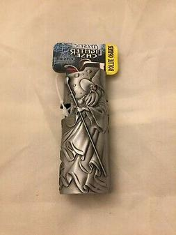 Mystic Wizard Fits Bic Pewter Lighter Holder Case Cover New