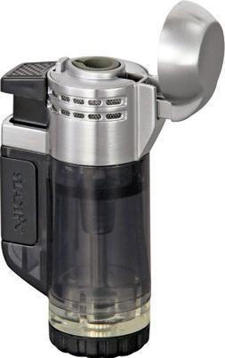 Xikar xi526bk Tech Double Jet Black Cigar Lighter