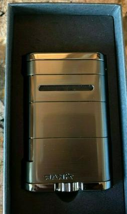 XIKAR Allume Double Flame Cigar Lighter - Stealth Gunmetal 5