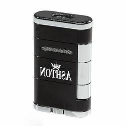 Xikar Allume Double Jet Cigar Lighter - Ashton - New