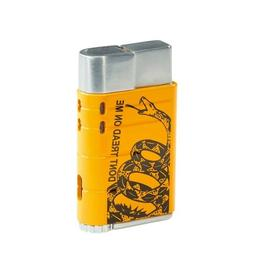 XIKAR Linea Single Jet Cigar Lighter - Don't Tread on Me - N