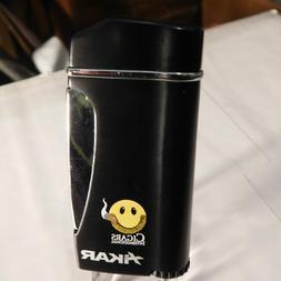 Xikar Promo Executive Lighter for CI with Smiley Logo - BLAC