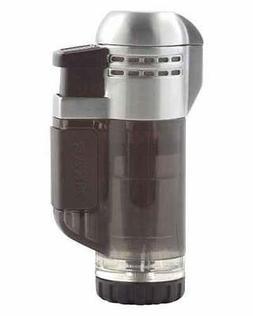 XIKAR Tech Double Torch Flame Cigar Lighter - Black 526BK