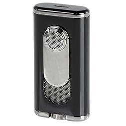 Xikar Verano Flat-Flame Lighter - Black