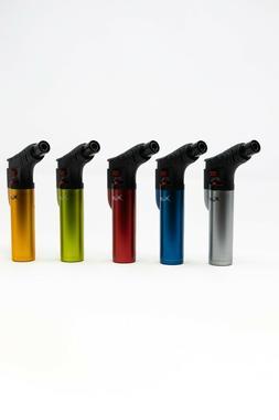 Xuper Metal Jet Flame Torch Lighter w/ Lock Windproof Adjust