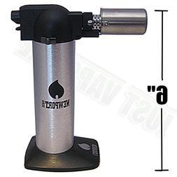 Newport Zero 6 Butane Torch Lighter - Silver by Newport