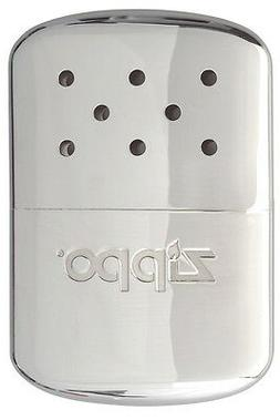 Zippo 12 Hour Refillable POLISHED CHROME Hand Warmer 40182 4