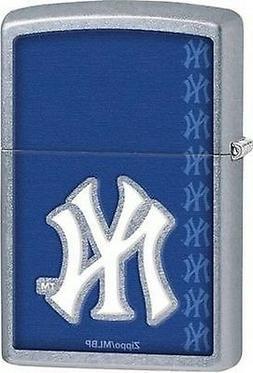 Zippo 29111 New York Yankees Lighter MLB Street Chrome Full