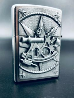 Zippo 3D Sea Navigation Sextant Lighter - *Rare