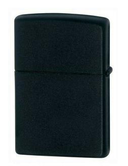 Zippo Black Matte Lighter Choice Inserts Fluid Butane Dual T