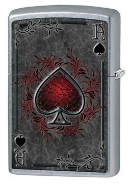 Zippo Lighter: Ace of Spades - Street Chrome 79476