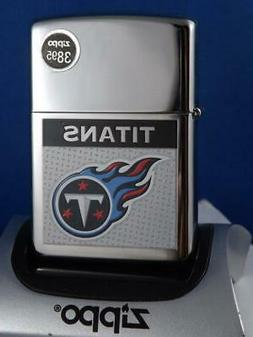 ZIPPO LIGHTER NFL FOOTBALL TENNESSEE TITANS 08 RETIRED COLLE