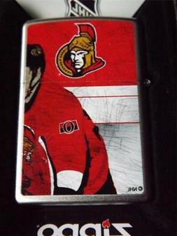 ZIPPO LIGHTER RETIRED OTTAWA SENATORS NHL CANADA HOCKEY FAN