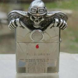 ZIPPO RARE COLLECTABLE 3 D GHOST RIDER LIMITED EDITION LIGHT