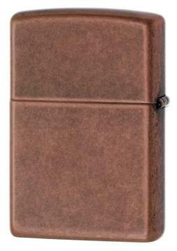 Zippo Windproof Antique Copper Lighter, 301FB, New In Box