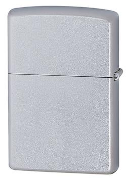 Zippo Windproof Satin Finish Chrome Lighter, # 205, New In B
