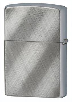 Zippo ZOZO28182 Lighter Diagonal Weave Chrome 28182